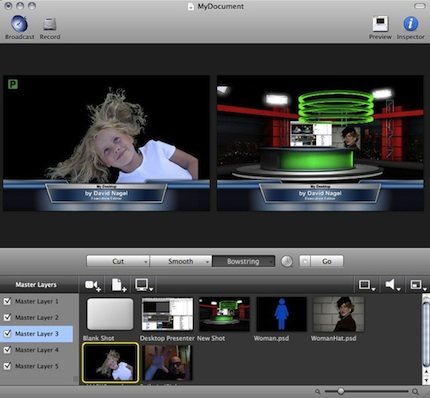 Wirecast 4 0 Goes Pro, Adds 3D Virtual Sets -- Campus Technology