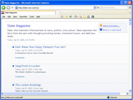 Internet Explorer 7 beta