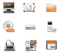 Dapper Ubuntu icons