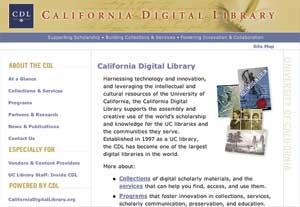 California Digital Library
