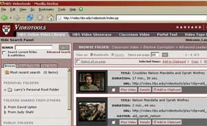 Digital Library of Video